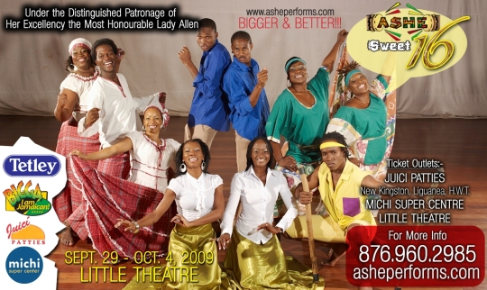 The Ashe is a Performing Arts Company committed to Jamaican and Afro-Caribbean cultural preservation and renewal through dance, song, drama, drumming and other forms of the performing arts.