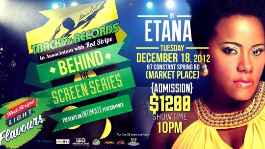 "Pre-Birthday Celebration Party, join me Tuesday, December 18th to ring my day in as the Etana, ""the Strong One"", performs in the BEHIND THE SERIES."
