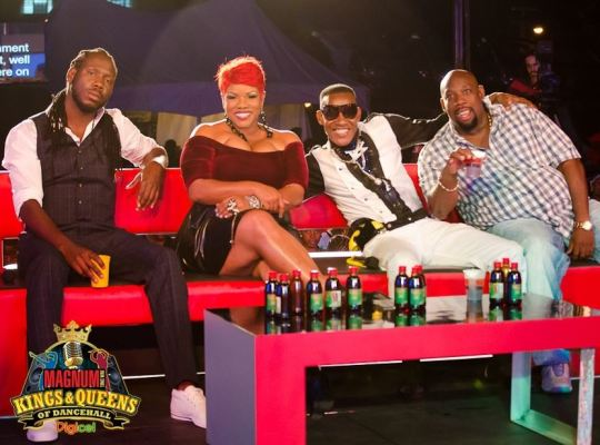 Magnum Kings and Queens of Dancehall Judges